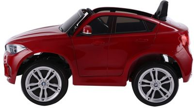 Accu Auto BMW X6M 1 Pers. Rood Metallic 12V 2.4G Rubber Banden-2