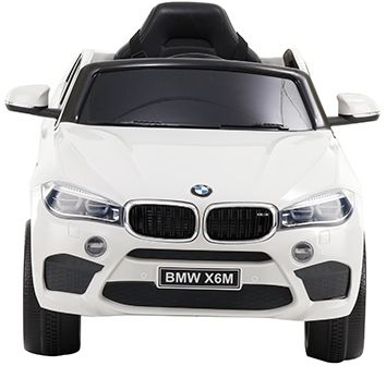 Accu Auto BMW X6M 1 pers. Wit 12V 2.4G Rubber Banden