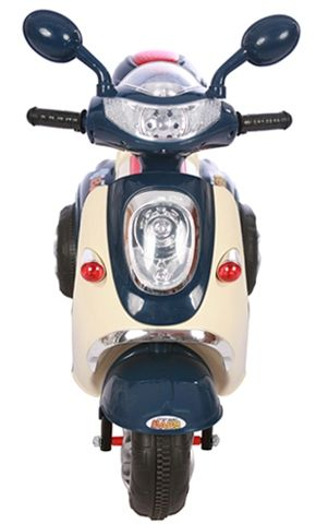 Accu Scooter Mulan Donker Blauw 6V -2