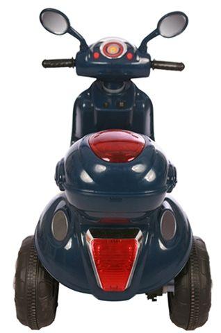Accu Scooter Mulan Donker Blauw 6V -1