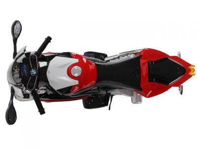 Accu Motor BMW S1000RR Rood 12V Rubber Banden -3