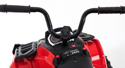 Accu Quad Venom Rood 12V Leder rubber banden 2,4G Afst. Bed.-3