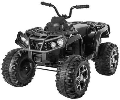 Accu Quad Venom Zwart 12V Leder rubber banden 2,4G Afst. Bed.