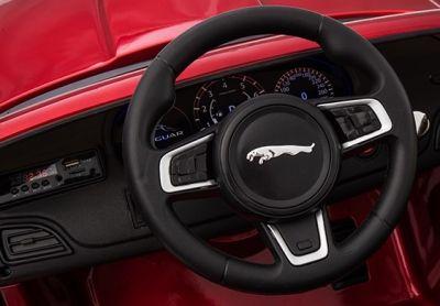 Accu Auto Jaguar F-PACE S Zwart Metallic 12V Deuren 2.4G Rubber banden-3
