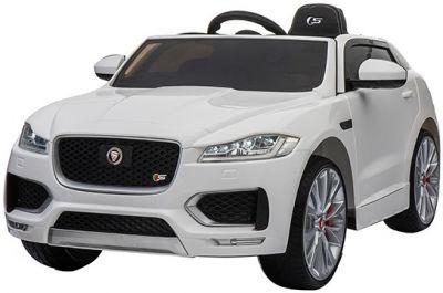Accu Auto Jaguar F-PACE S Wit 12V Deuren 2.4G Rubber Banden