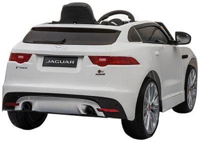 Accu Auto Jaguar F-PACE S Wit 12V Deuren 2.4G Rubber Banden-2
