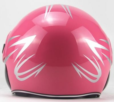 Scooter Helm Roze -1