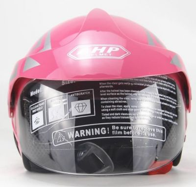 Scooter Helm Roze