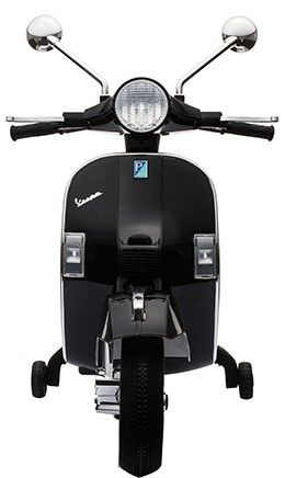 Accu Vespa PX150 Scooter 12V Zwart Rubber Banden