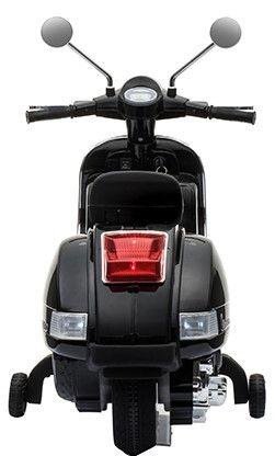 Accu Vespa PX150 Scooter 12V Zwart Rubber Banden -1