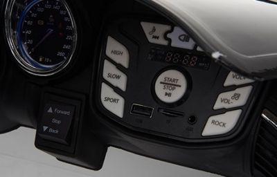 Accu Auto ACTIE Jaguar F-TYPE SVR Wit 12V Deuren 2.4G Rubber Banden-3