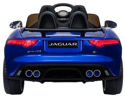 Accu Auto ACTIE Jaguar F-TYPE SVR Blauw Metallic 12V Deuren 2.4G Rubber Banden-2