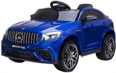 Accu Auto MERCEDES GLC63-AMG MP4-Scherm Blauw Metallic Rubber Banden
