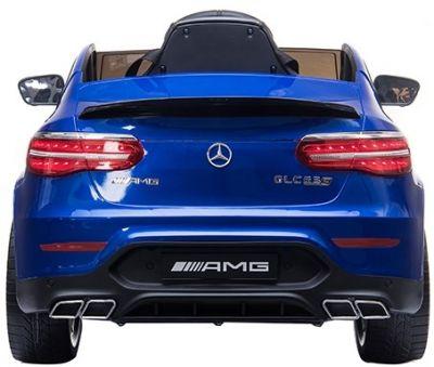 Accu Auto MERCEDES GLC63-AMG MP4-Scherm Blauw Metallic Rubber Banden-2