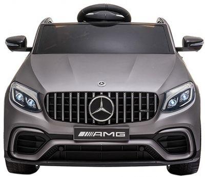 Accu Auto MERCEDES GLC63-AMG MP4-Scherm Matt Grijs Rubber Banden