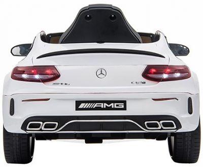 Accu Auto Mercedes C63s-AMG Wit 12V Rubber Banden-1