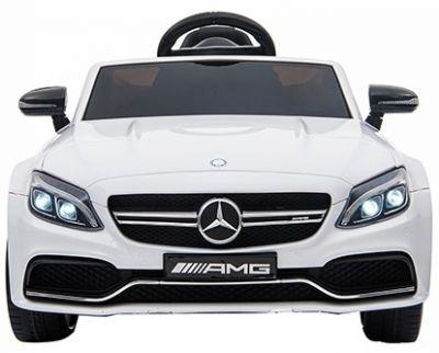 Accu Auto Mercedes C63s-AMG Wit 12V Rubber Banden-2
