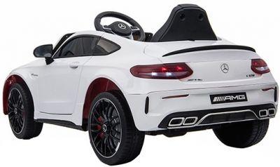 Accu Auto Mercedes C63s-AMG Wit 12V Rubber Banden-3