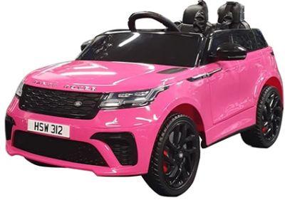 Elektrische Kinderauto Range Rover Velar Roze Metallic  1-Pers 12V 2.4G Rubber Banden