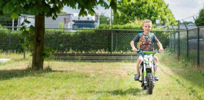 Mini Cross Bike JUMPER Groen 500W 36V -1