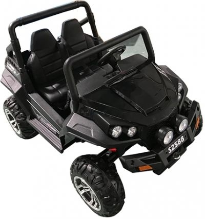 Accu Auto Cross Country XL 4X4  Zwart 2 Persoons