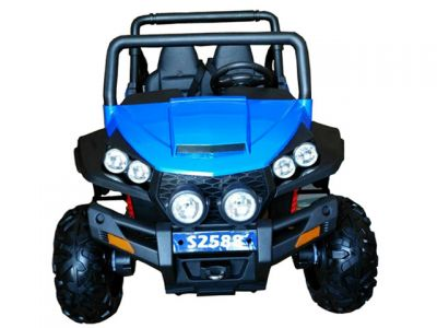 Accu Auto Cross Country XL 4X4  Blauw 2 Persoons Rubber Banden-3