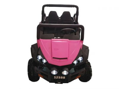 Accu Auto Cross Country XL 4X4  Roze 2 Persoons -3