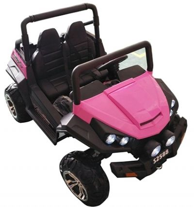 Accu Auto Cross Country XL 4X4  Roze 2 Persoons