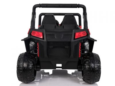 Accu Auto Cross Country XL 4X4  Rood 2 Persoons Rubber Banden-3