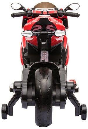 Accu Motor Diablo Rood 12V Rubberen LED Banden -3