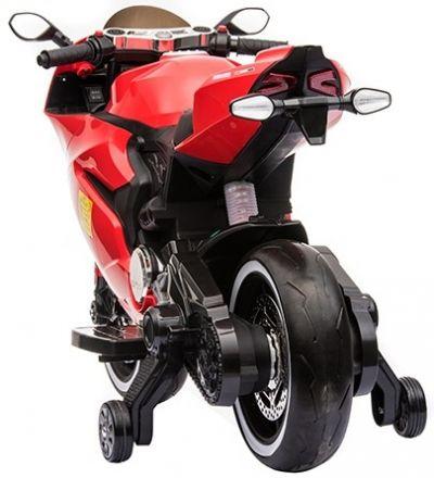 Accu Motor Diablo Rood 12V Rubberen LED Banden -1