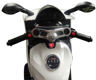 Accu Motor Diablo Wit 12V Rubberen LED Banden-4