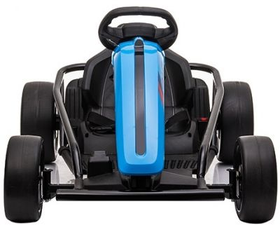 Accu Auto Drift Kart 24V Blauw Rubber Banden-1