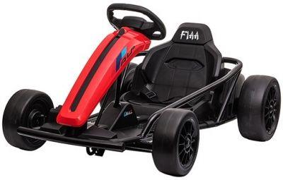 Accu Auto Drift Kart 24V Rood Rubber Banden