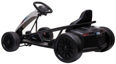 Accu Auto Drift Kart 24V Wit Rubber Banden-2