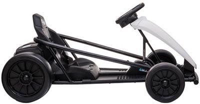 Accu Auto Drift Kart 24V Wit Rubber Banden-1