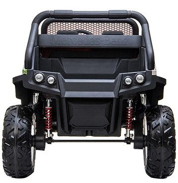Accu Auto Mercedes Unimog 4X4 MP4-TV Camouflage 2 Persoons Rubber Banden-3