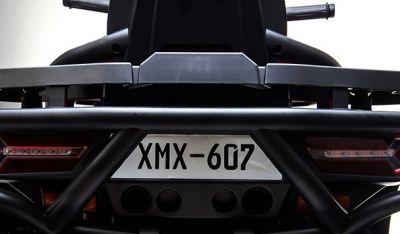 Accu Quad Mamba Zwart 12V Leder 2,4G Afst. Bed. Rubber Banden-3