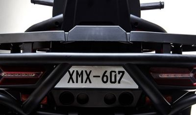 Accu Quad Mamba Roze 12V Leder 2,4G Afst. Bed. Rubber Banden-3