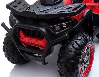 Accu Quad Mamba Camo-Groen 12V Leder rubber banden 2,4G Afst. Bed.-4