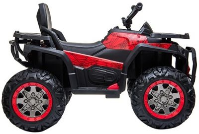 Accu Quad Mamba RED-SPIDER 12V Leder 2,4G Afst. Bed. Rubber Banden-1