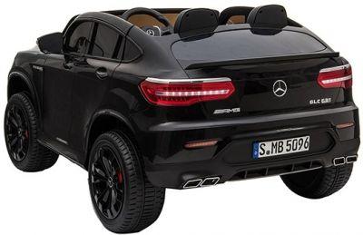 Accu Auto MERCEDES GLC63-AMG 4X4 MP4 Scherm Zwart Metallic 2 Persoons-2