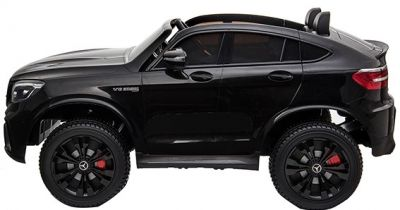 Accu Auto MERCEDES GLC63-AMG 4X4 MP4 Scherm Zwart Metallic 2 Persoons-1