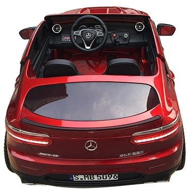 Accu Auto MERCEDES GLC63-AMG 4X4 MP4 Scherm Rood Metallic 2 Persoons-2