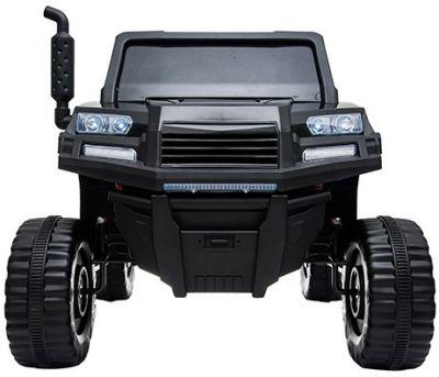 Accu Auto Truggy XL 4X6 Zwart 12V 2-persoons Rubber Banden-1