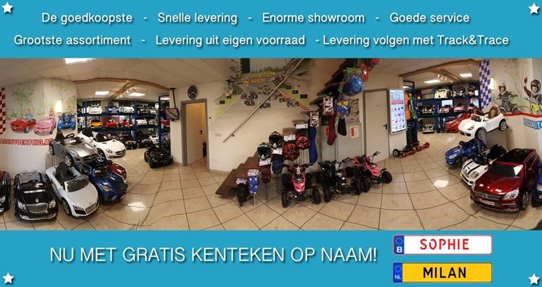 Showroom van E-Funn